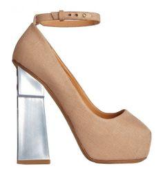 Mary jane beige dalla collezione primavera estate 2013 di scarpe Aperlai