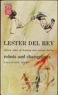Robots and Changelings, art by Richard M. Powers, book cover