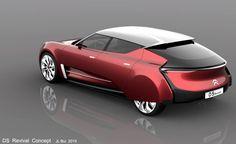 Citroen DS Revival Concept Car by Jean-Louis Bui