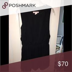 BCBGeneration Black Version of Dress Pleated black mini dress, drop waist great for winter formals! Worn once and dry cleaned, great condition! Size small, fits like a small/medium. BCBGeneration Dresses Mini