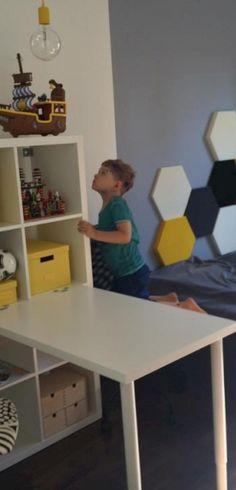 Zdjęcie z realizacji.Fluffo w Dekoratornia.tv, panele Pixel.