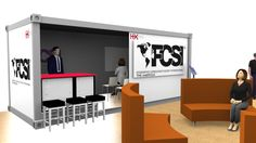 FCSI Pavilion View at Education Box designed by LU Schildmeyer