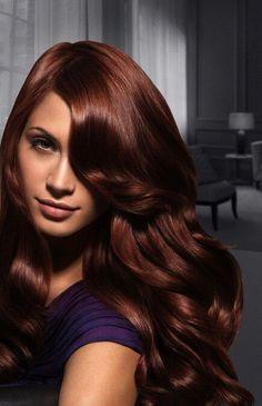 Deep Auburn Hair Color