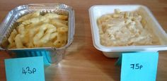 43p macaroni cheese - and it's better than the 75p ready meal! #belowtheline