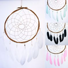 Native American Dreamcatcher  Wall Hanging by HippiebyViki on Etsy