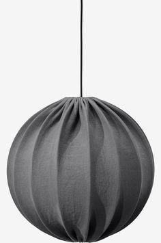 Alva Takskärm Stonewash Charcoal - PR Home - Norrmalms Elektriska Bean Bag Chair, Charcoal, Furniture, Home Decor, Middle, House, Interior Design, Lighting, Tela