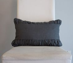 Ruched Pillow with Band