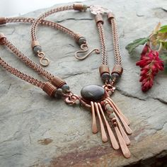 Mielikki - Goddess of the Forest Necklace   JewelryLessons.com