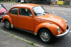 VW Käfer orange ☺