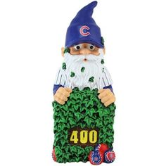 Chicago Cubs Team Mascot Gnome
