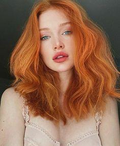 Beautiful Red Hair, Beautiful Redhead, Pretty Red Hair, Ginger Hair Color, Ginger Hair Girl, Ginger Girls, Aesthetic Hair, New Hair, Redheads