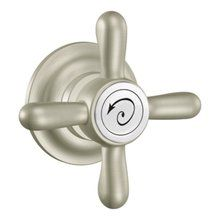 View the Moen YB8401 Reversible Tank Lever with Metal Cross Handle from the Weymouth Collection at FaucetDirect.com.