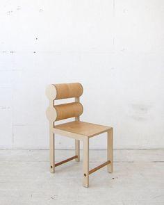 WAKAWAKA Double Cylinder Chair