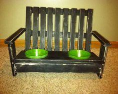 dog bowl stand diy