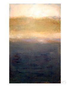 Lake Michigan Abstract Landscape II Giclee Print