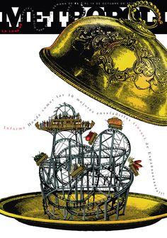 Las mejores ensaladillas rusas de España, 2010. Ilustración de Raúl Arias.
