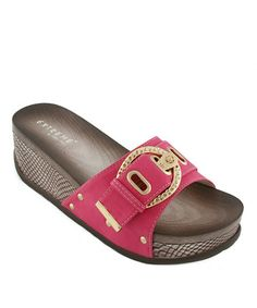 This Fuchsia Jane Slide by Eddie Marc & Co. is perfect! #zulilyfinds $24.99, usually 60.00