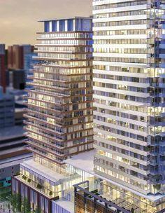 Landmark Yonge Street Toronto condo tower.