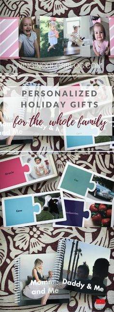 Personalized Gifts For The Family + VIDEO || Gift Guide || Holidays 2016 || holiday shopping|| Personalized gifts ||Pinhole Press || What to buy grandparents || gifts under $50 || Gifts under $40    #ad @pinholepress