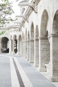 Fisherman's Bastion in Budapest - from travel blog: http://epepa.stfi.re