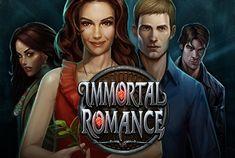 Immortal Romance is een van de populairste video gokkasten van Microgaming. Dit is een geweldige gokkast met echt spannende muziek en mooie personages.Immortal Romance is het spel met 5 rollen en 243 paylines. Er is een jackpot van 60,000.