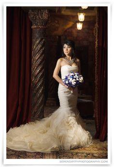 House of Blues Houston Bridal Portrait Photography – Paige