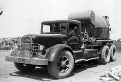 Old Mack Cement Mixer Truck
