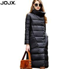 48c29496e4d94 JOJX 2018 New Korean Plus Size Parka Down Jackets Women Winter 4 Color  Fashion Elegant Double