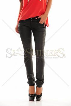 Simplistic Way Black Trousers
