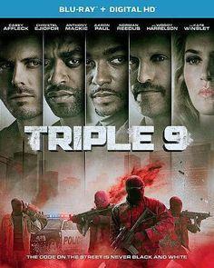 Triple 9 ( Blu-ray + Digital HD w/ Ultraviolet , w/ slipcover , 2016 )
