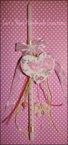 Χειροποίητη λαμπάδα με διακοσμητικό τοίχου καρδούλα Perfume Bottles, Gift Wrapping, Gifts, Gift Wrapping Paper, Presents, Wrapping Gifts, Perfume Bottle, Favors, Gift Packaging
