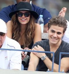 Image de Nina Dobrev, paul wesley, and tvd
