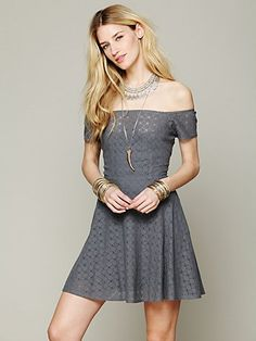 Shimmy Shake Fit And Flare Dress