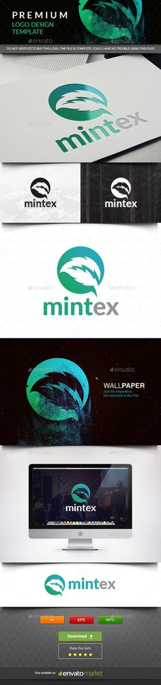 Mint Tech — Vector EPS #tech #electrical • Available here → https://graphicriver.net/item/mint-tech/11663132?ref=pxcr