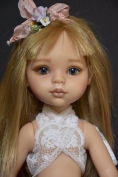 """OOAK  Paola Reina Lisa 13"""" - 33cm  vinyl  doll  repainted by LauraCortiDolls"""