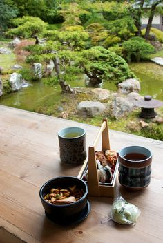7. Drinking Japanese tea and eating traditional food. I love Japanese cuisine and culture so much!