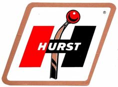 Hurst Shifters Old Decal Racing Stickers, Car Stickers, Car Decals, Garage Signs, Garage Art, Vintage Signs, Vintage Posters, Hurst Shifter, Car Logos