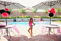 The TomKat Studio: Flamingo Pool Party…