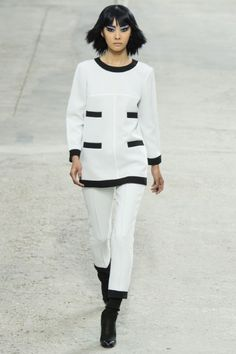 Chanel Spring Summer 2014 - Paris [ AlbertoFermaniUSA.com ] #Vogue #fashion #style