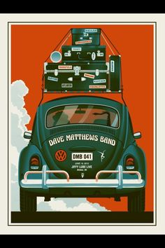 Dave Matthews Band Poster June 15, 2012 Bristow Virginia