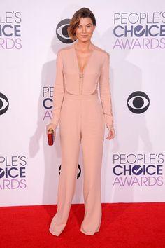 SÍ Y NO: La red carpet de los People's Choice Awards ELLEN POMPEO