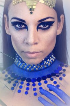 Cleopatra Make-up. Photo: Sarah Bugar & F. School Makeup, Cleopatra, Schools, Make Up, Fashion, Makeup, Makeup Lessons, Moda, La Mode