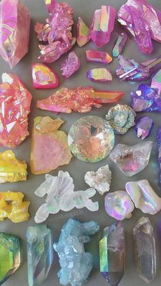 Colorful Crystals | Gems | Gemstones | Crystal Collection