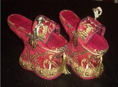 Женская средневековая обувь: missis_gemp