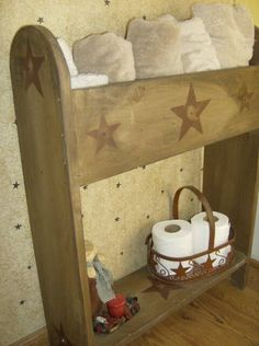 Primitive Crafts | Primitive Place ~ Primitive & Colonial Inspired Bathrooms