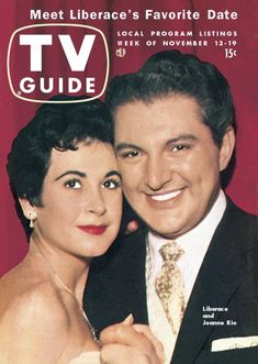 TV Guide, November 13, 1954 - Joanne Rio and Liberace
