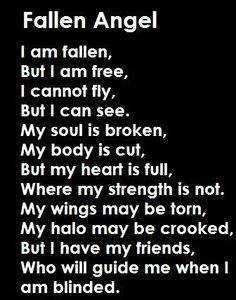 Fallen angel .....