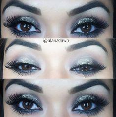 Beautiful makeup look with tutorial