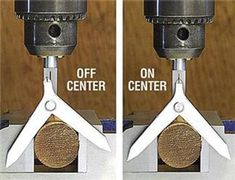 Center Finder for Round Stock.Never drill off-center holes again.use our Center Finder to quickly and easily position your drill press chuck directly above the exact center of a round workpiece. Metal Working Tools, Metal Tools, Work Tools, Homemade Tools, Diy Tools, Hand Tools, Woodworking Crafts, Woodworking Projects, Woodworking Furniture