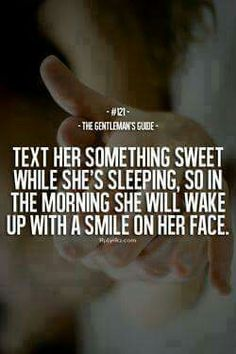 Nothing better than early morning texts from the boyfriend sometimes so early you know they just woke up sent a cute msg and went back to sleep